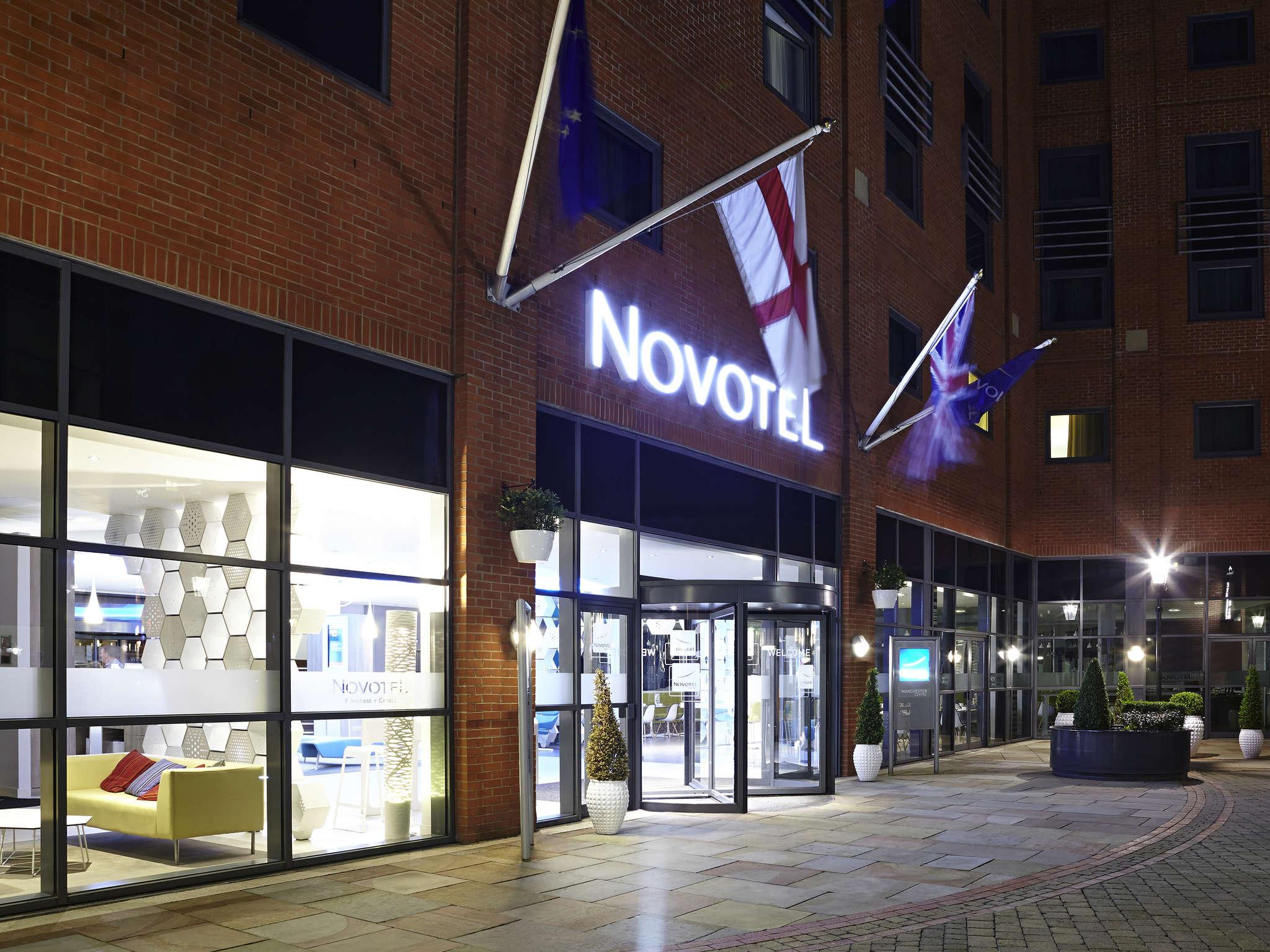 Отель — Novotel Манчестер Центр