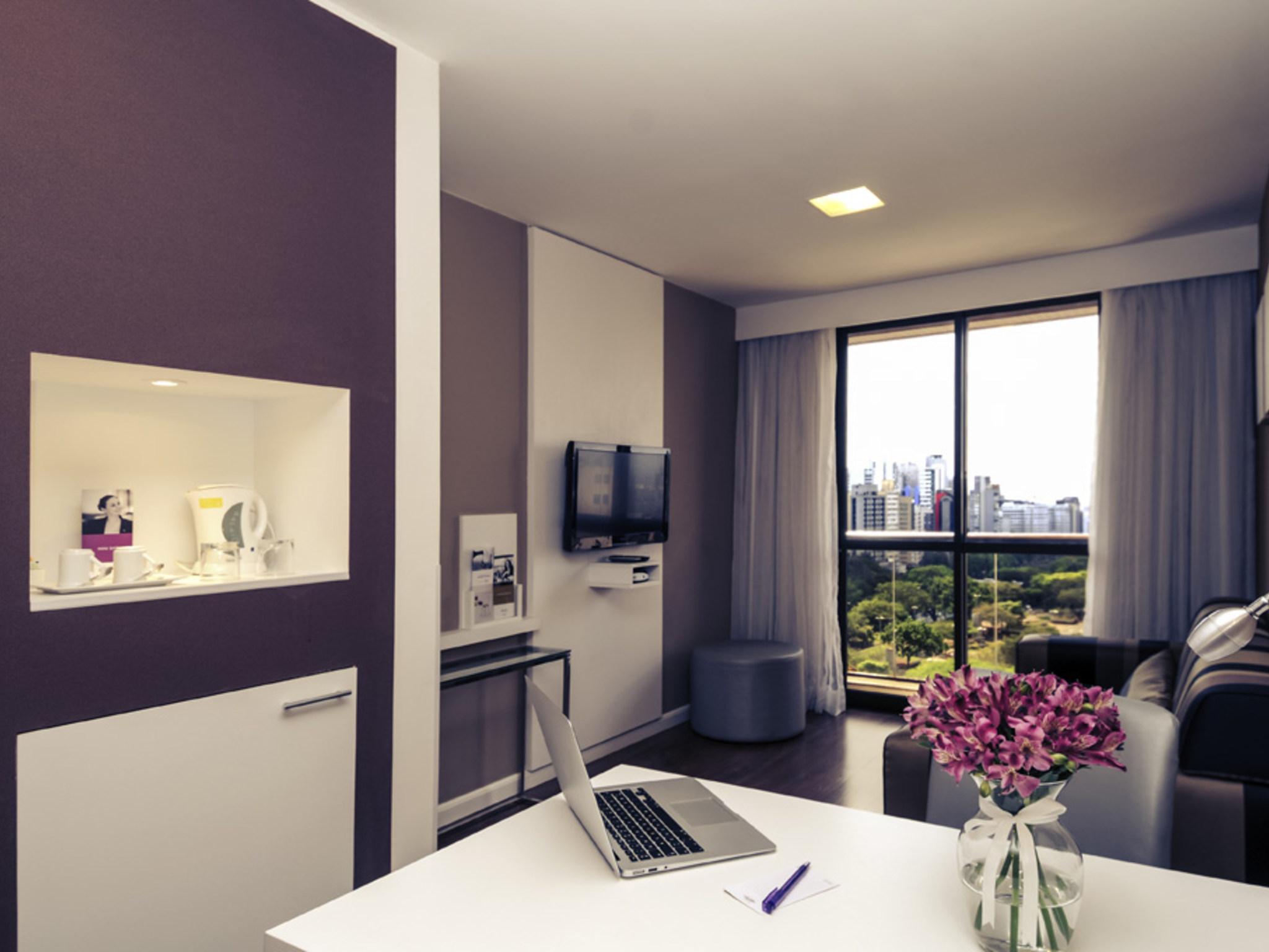โรงแรม – Mercure São Paulo Paraiso Hotel