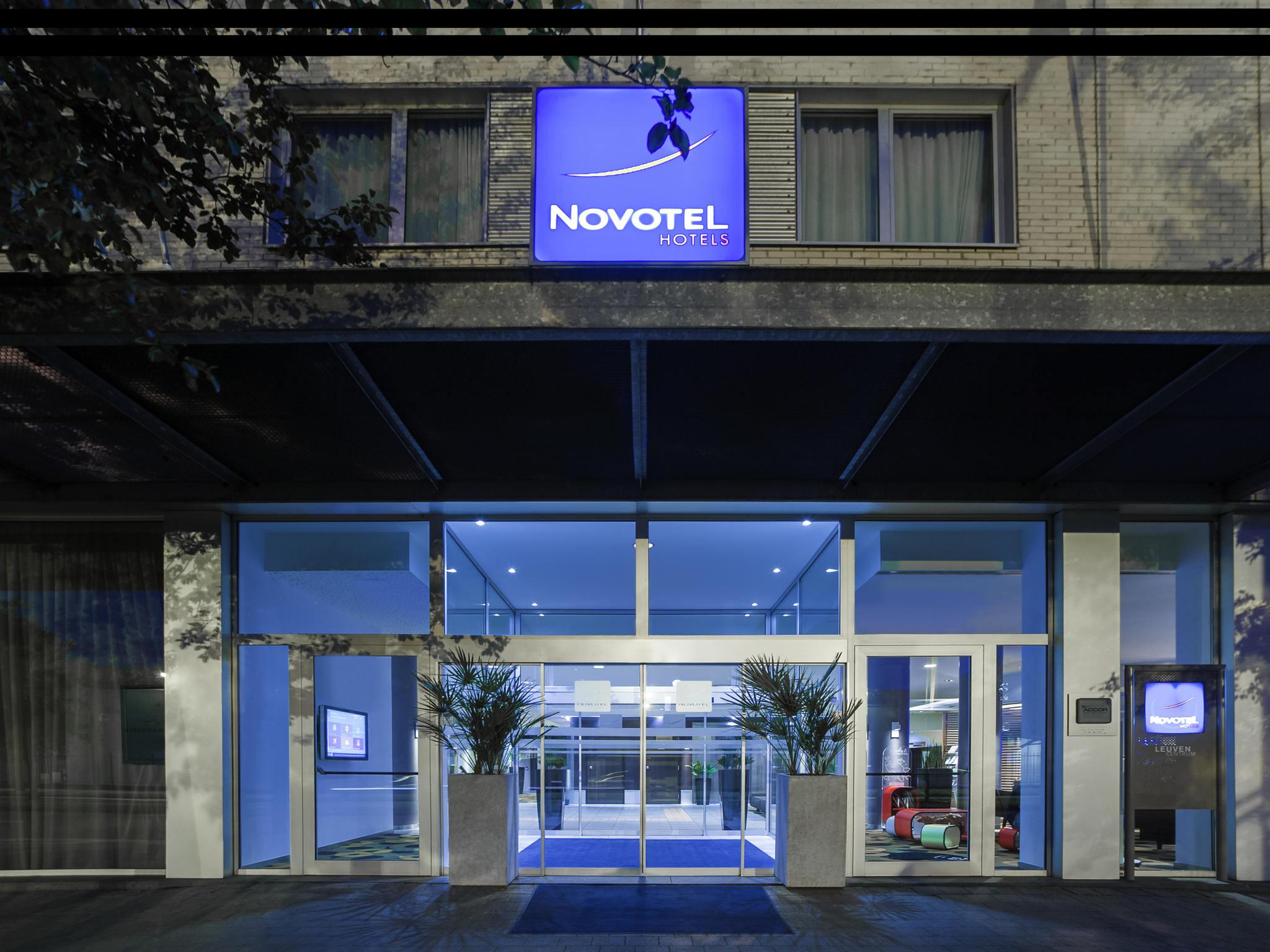 Отель — Novotel Лёвен Центр