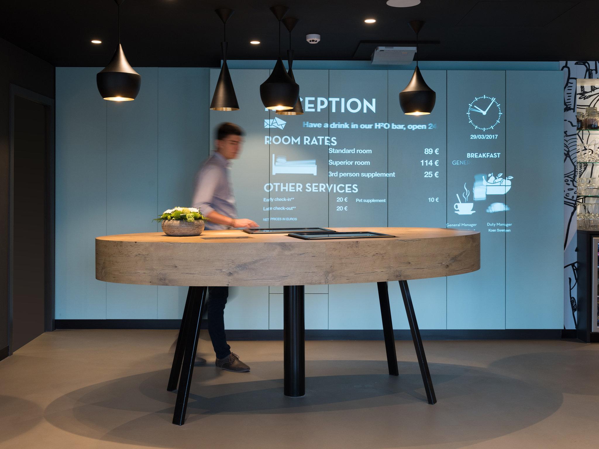 โรงแรม – ibis Aalst Centrum