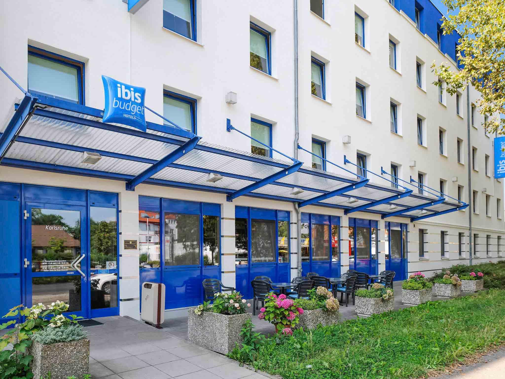 Отель — ibis budget Карлсруэ
