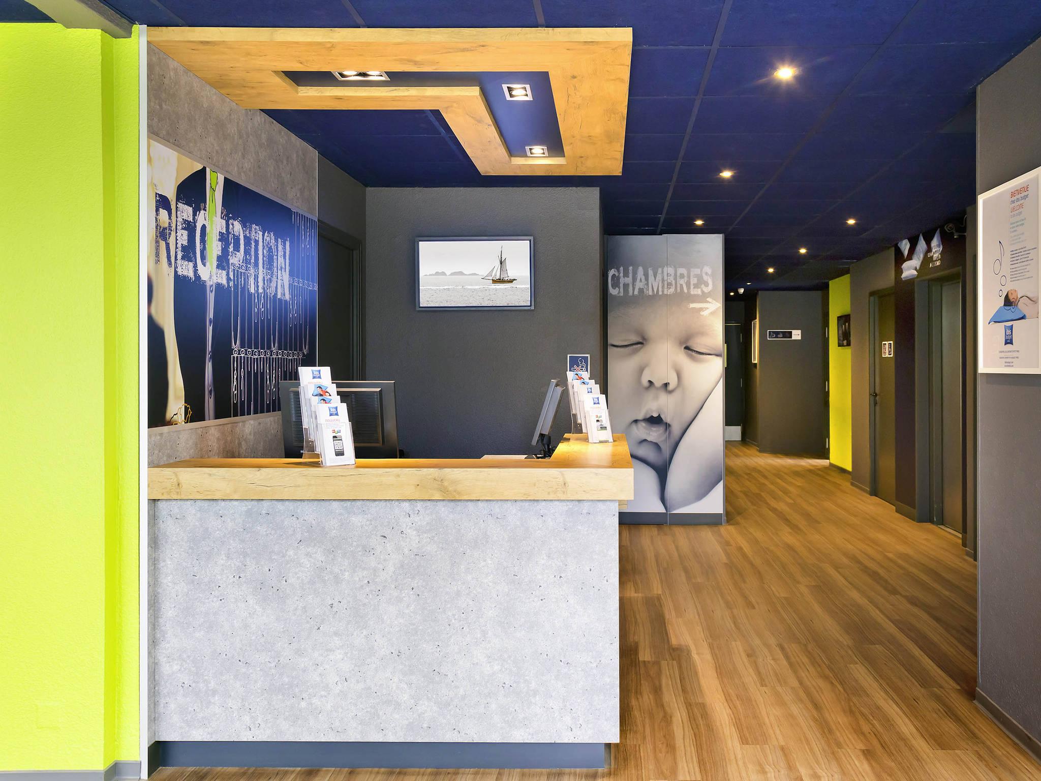 Отель — ibis budget Saint-Malo Centre