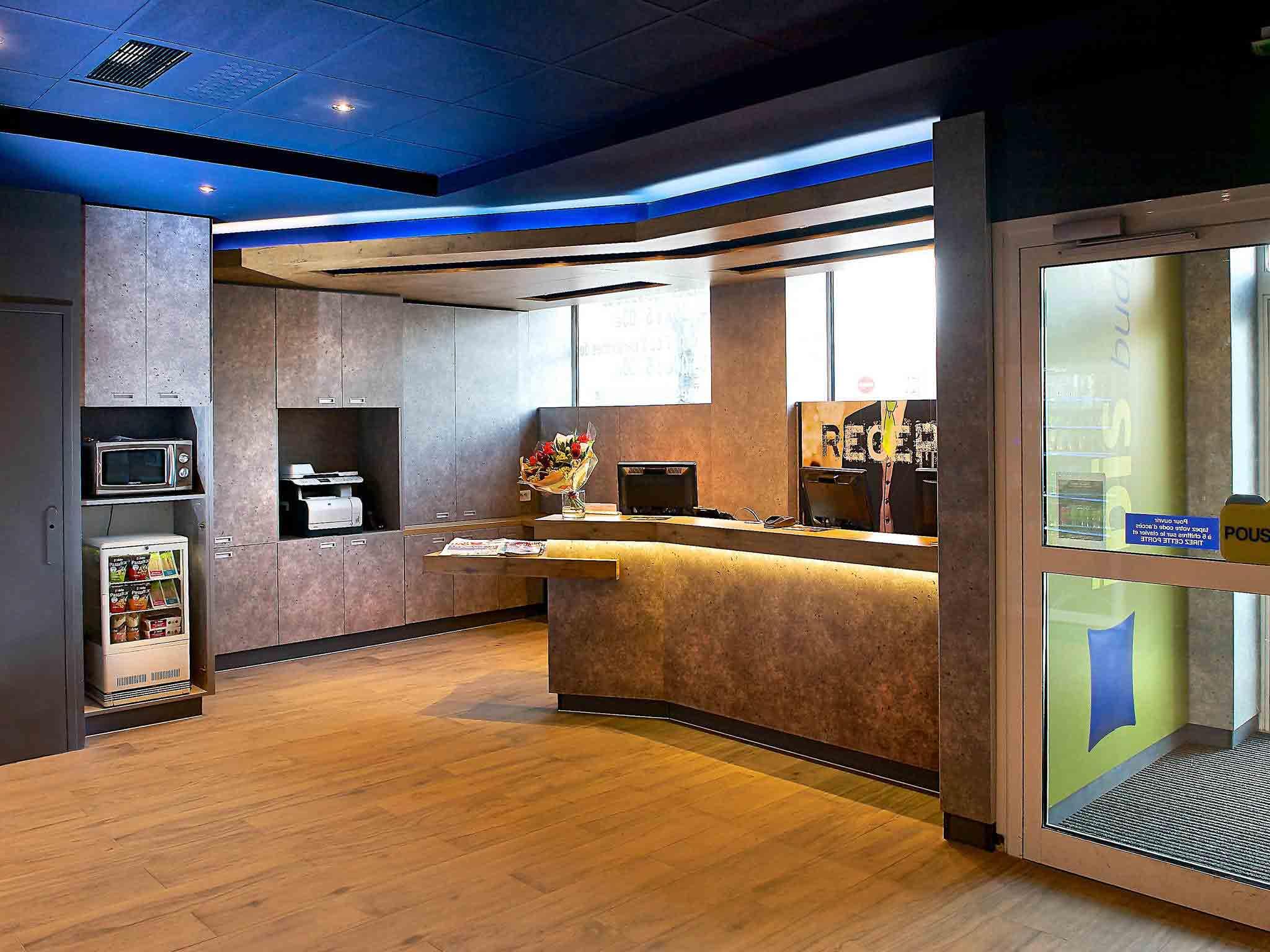 Hotell – ibis budget Strasbourg Centre Gare