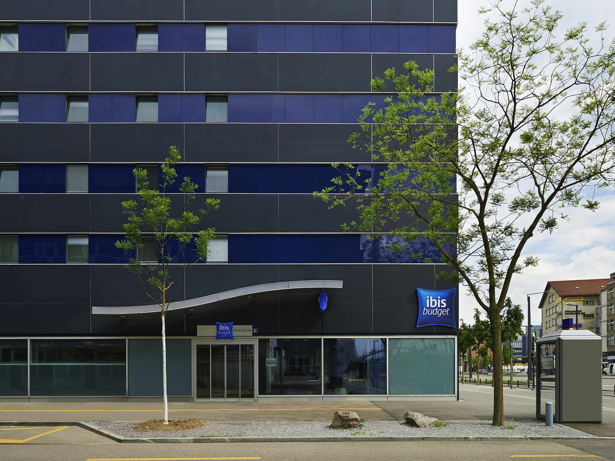 Отель — ibis budget Цюрих Сити Запад