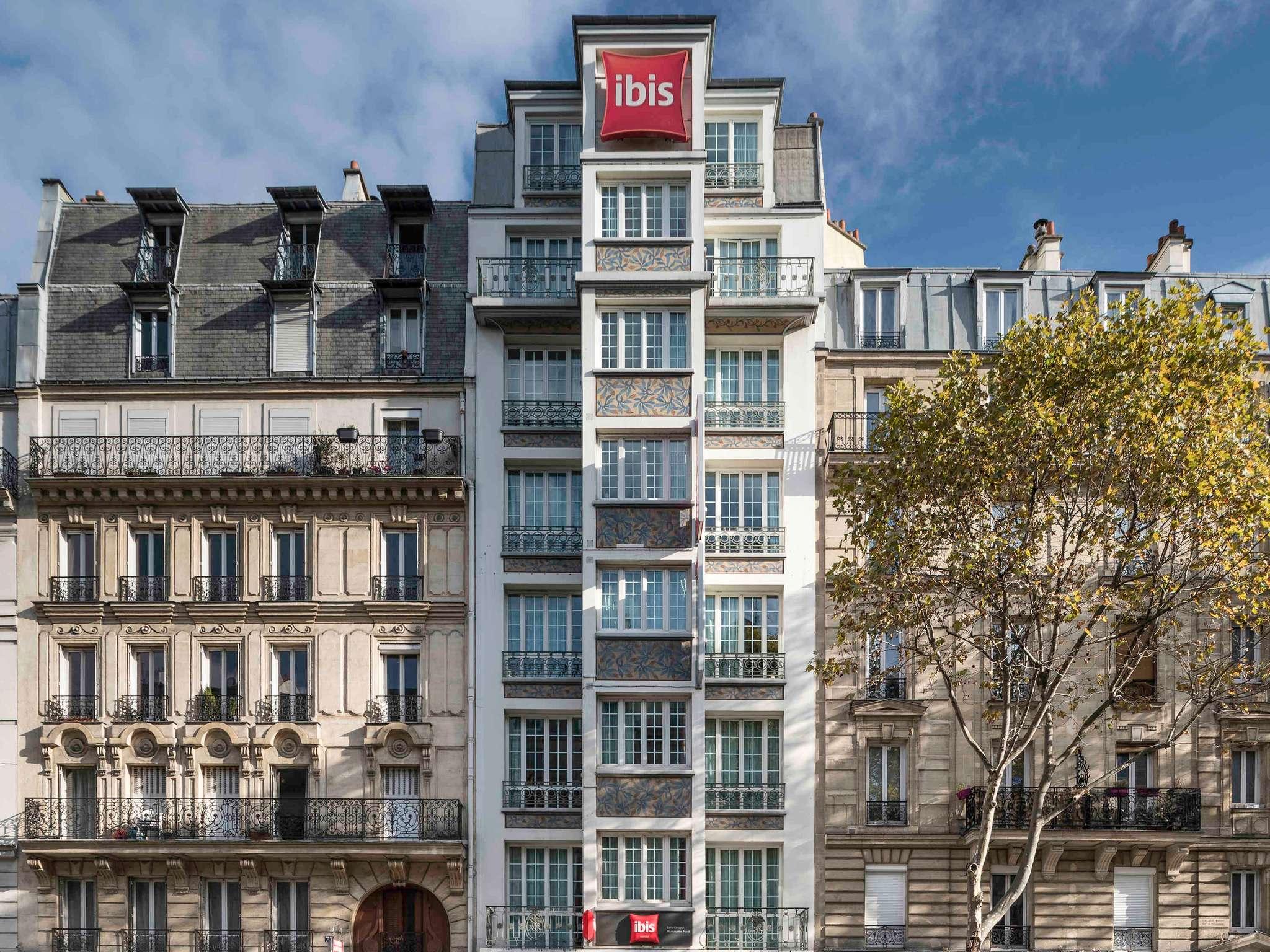 Hotel in PARIS ibis Paris Ornano Montmartre North 18th