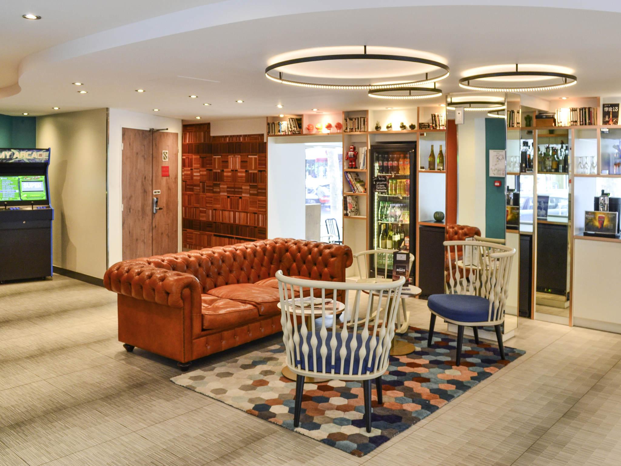 酒店 – 宜必思里昂狄德罗火车站 12ème 酒店