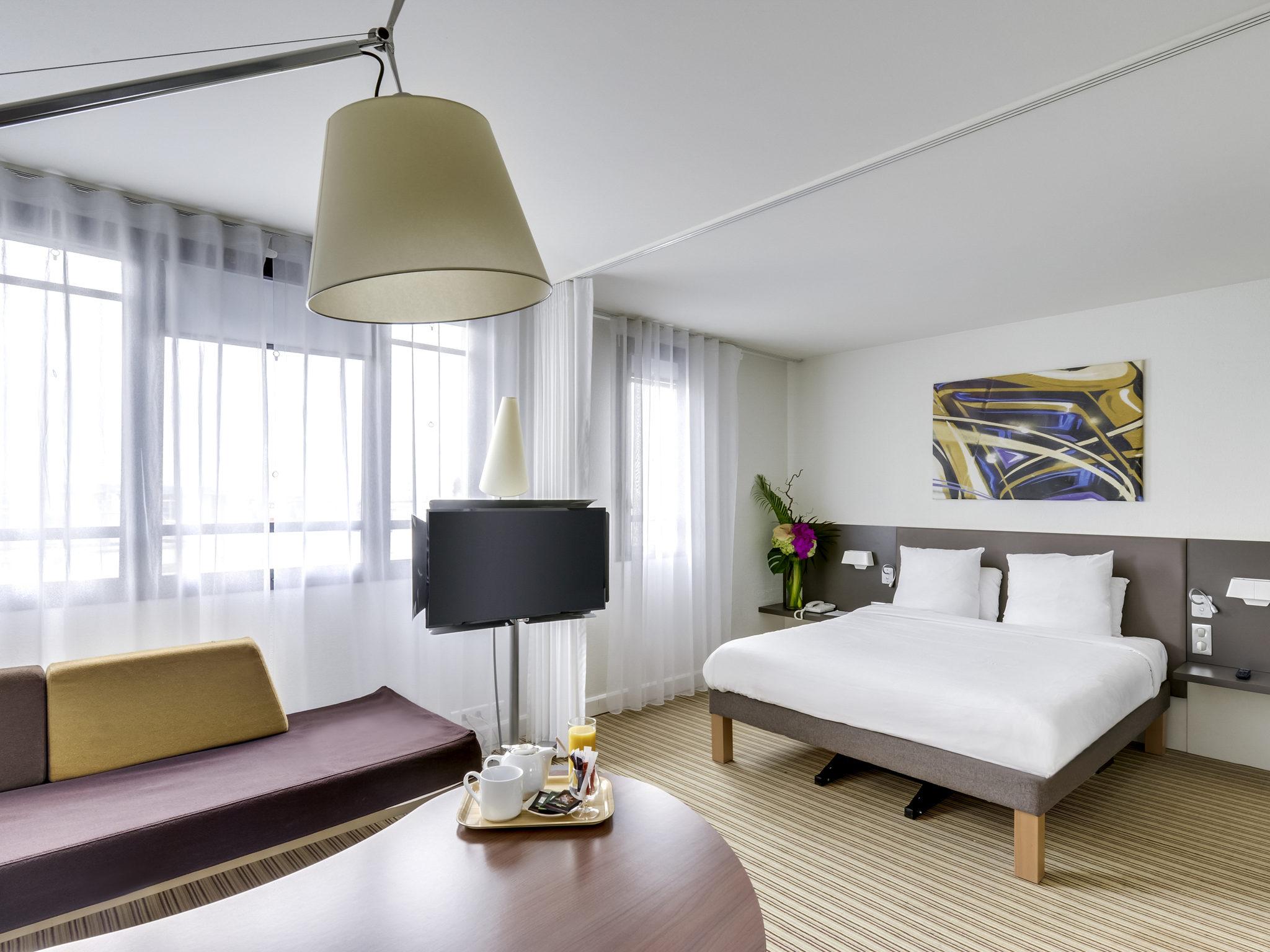 Отель — Novotel Suites Париж Монтрей Винсенн