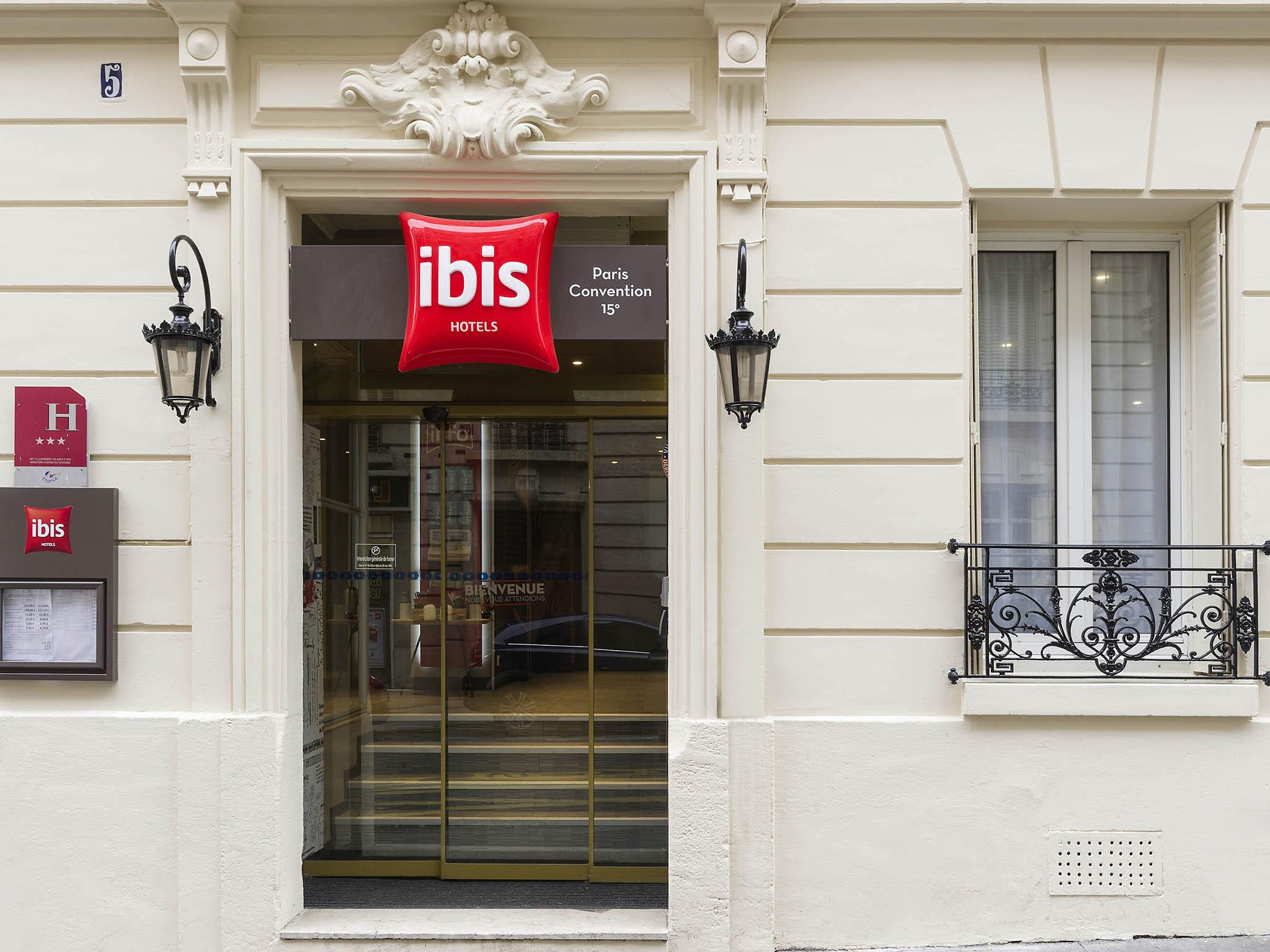 Hotel in paris ibis paris vaugirard porte de versailles - Hotels near porte de versailles exhibition centre ...
