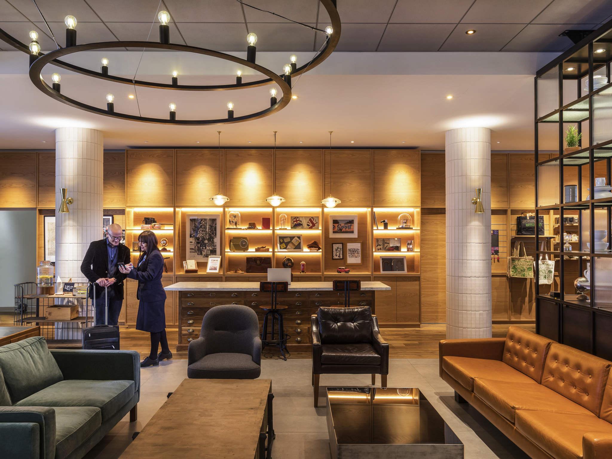 Hôtel - Novotel Londres Centre Sud