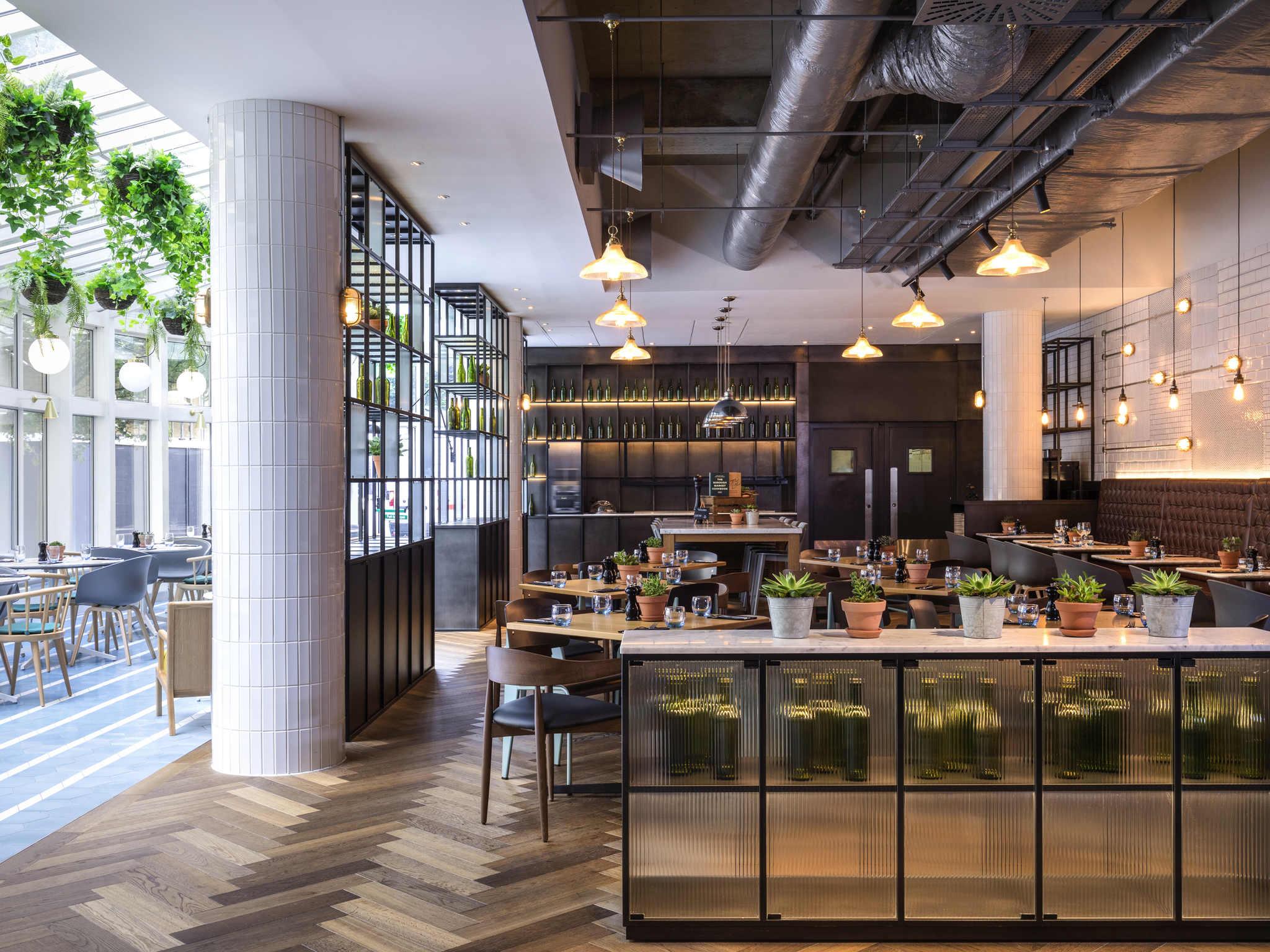 ... Restaurant   Novotel London City South ...