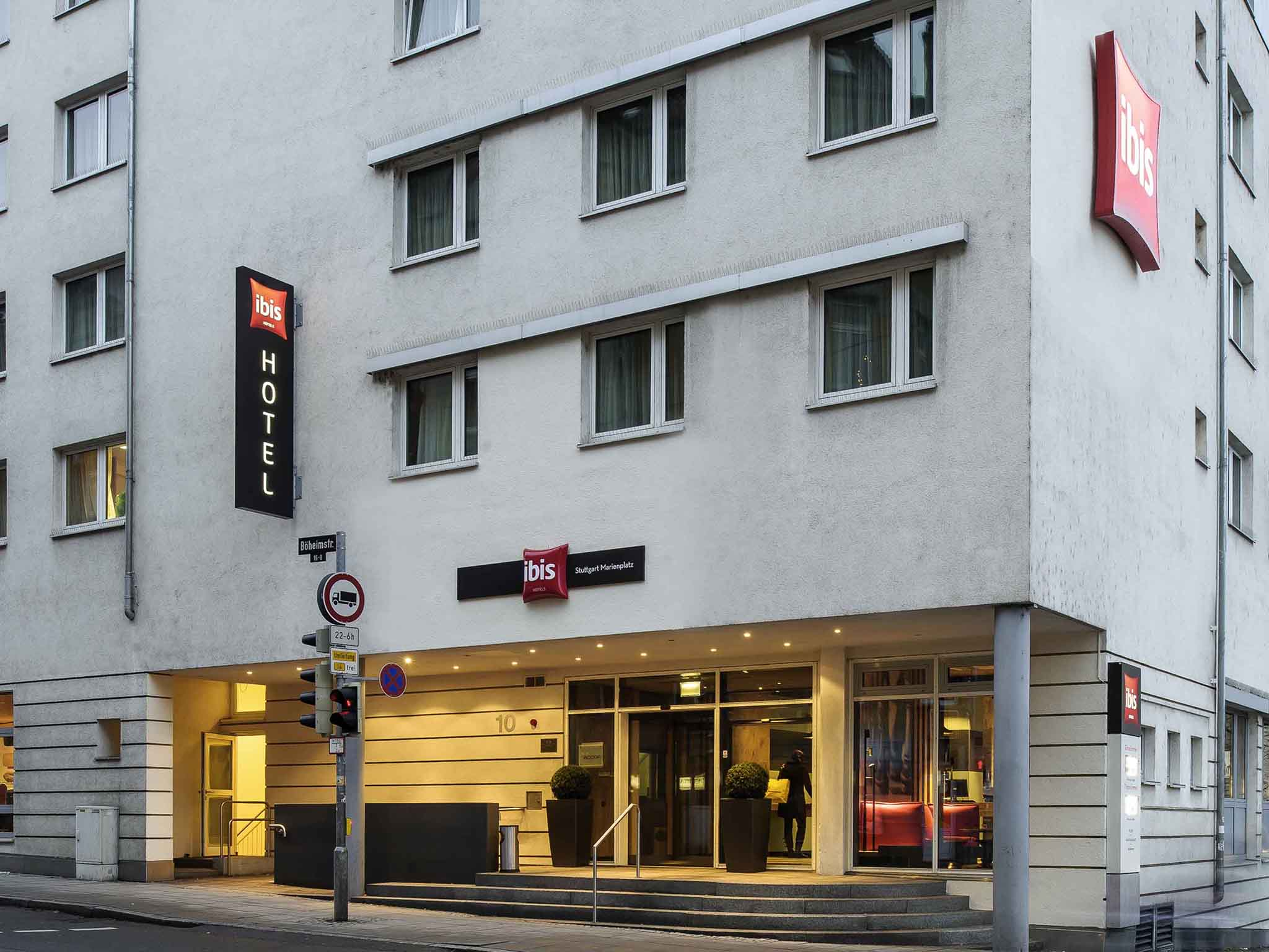 Hotel En Stuttgart Ibis Stuttgart Centrum
