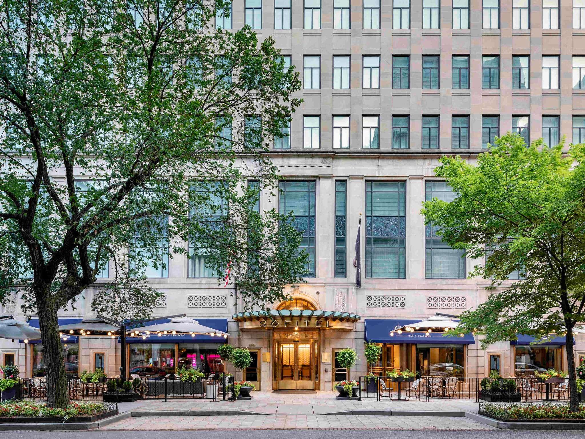 Отель — Sofitel Вашингтон Лафайетт-Сквер