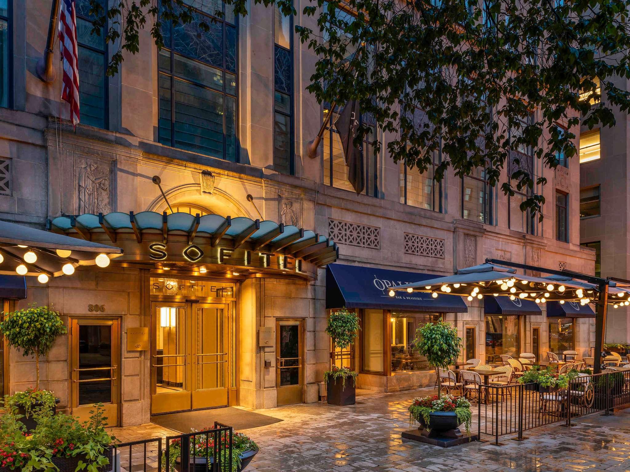 hotel in washington d c sofitel washington dc lafayette square