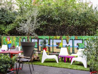 Hotel pas cher clichy ibis paris porte de clichy centre - Porte de clichy restaurant ...