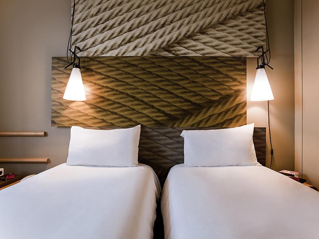 Chambre standard avec 2 lits simples