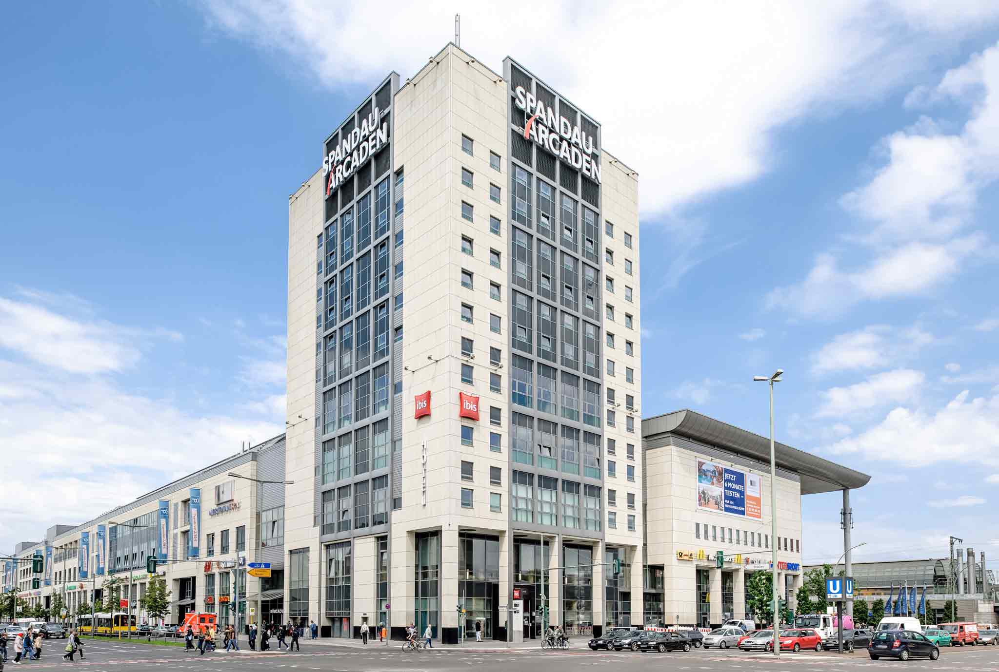 Отель — ibis Берлин Шпандау