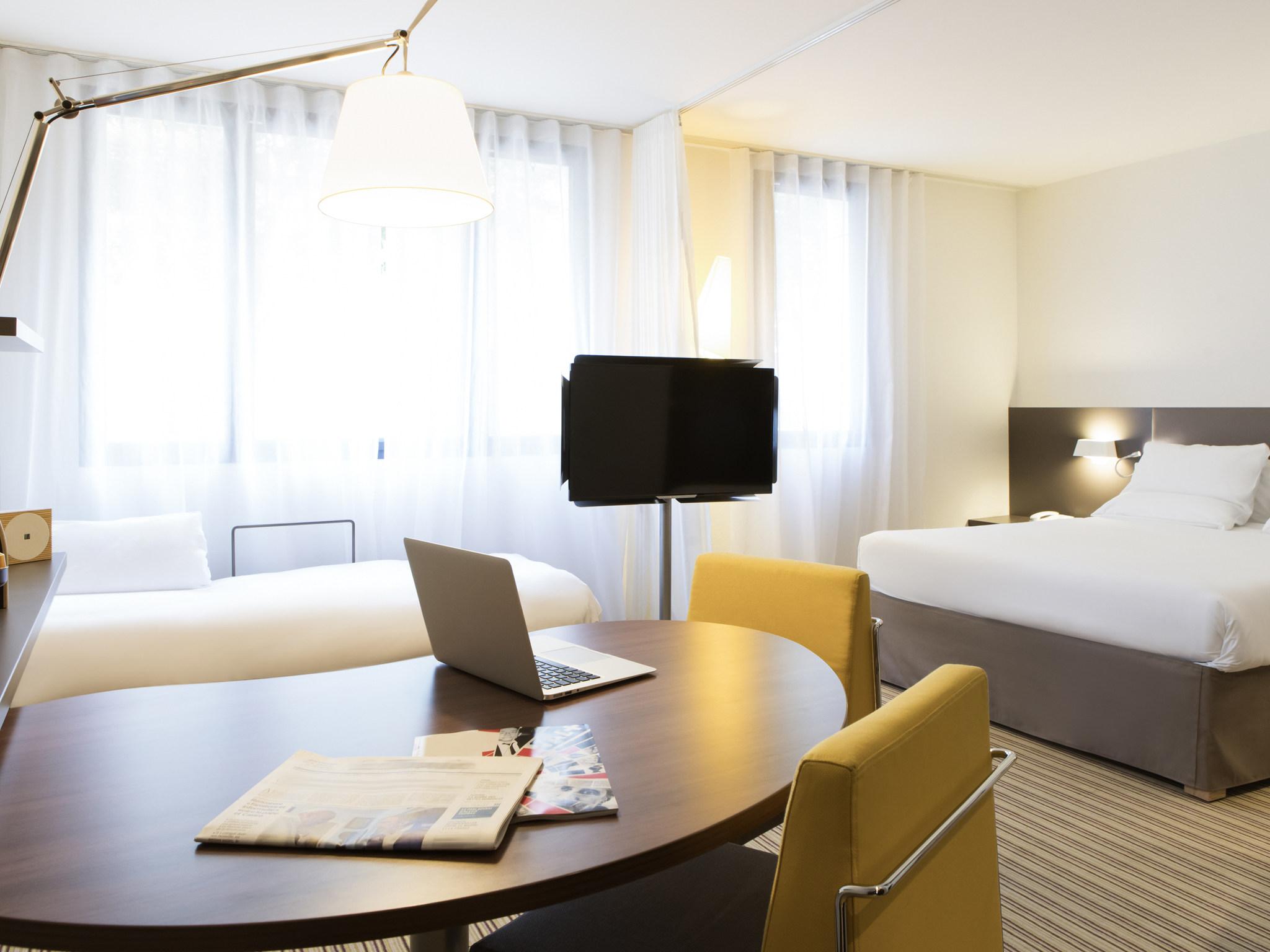 酒店 – 巴黎吕埃尔马尔迈松诺富特套房酒店