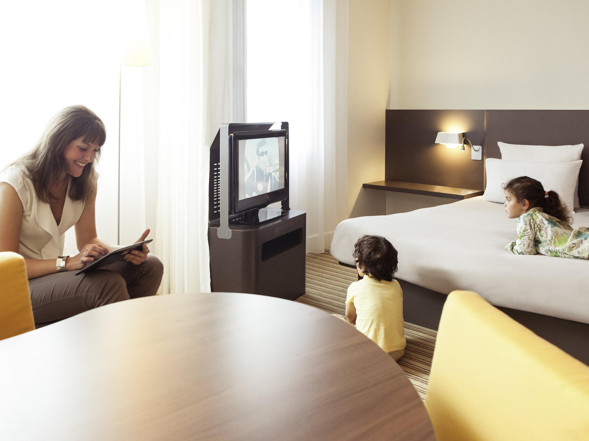 Отель — Novotel Suites Paris Vélizy