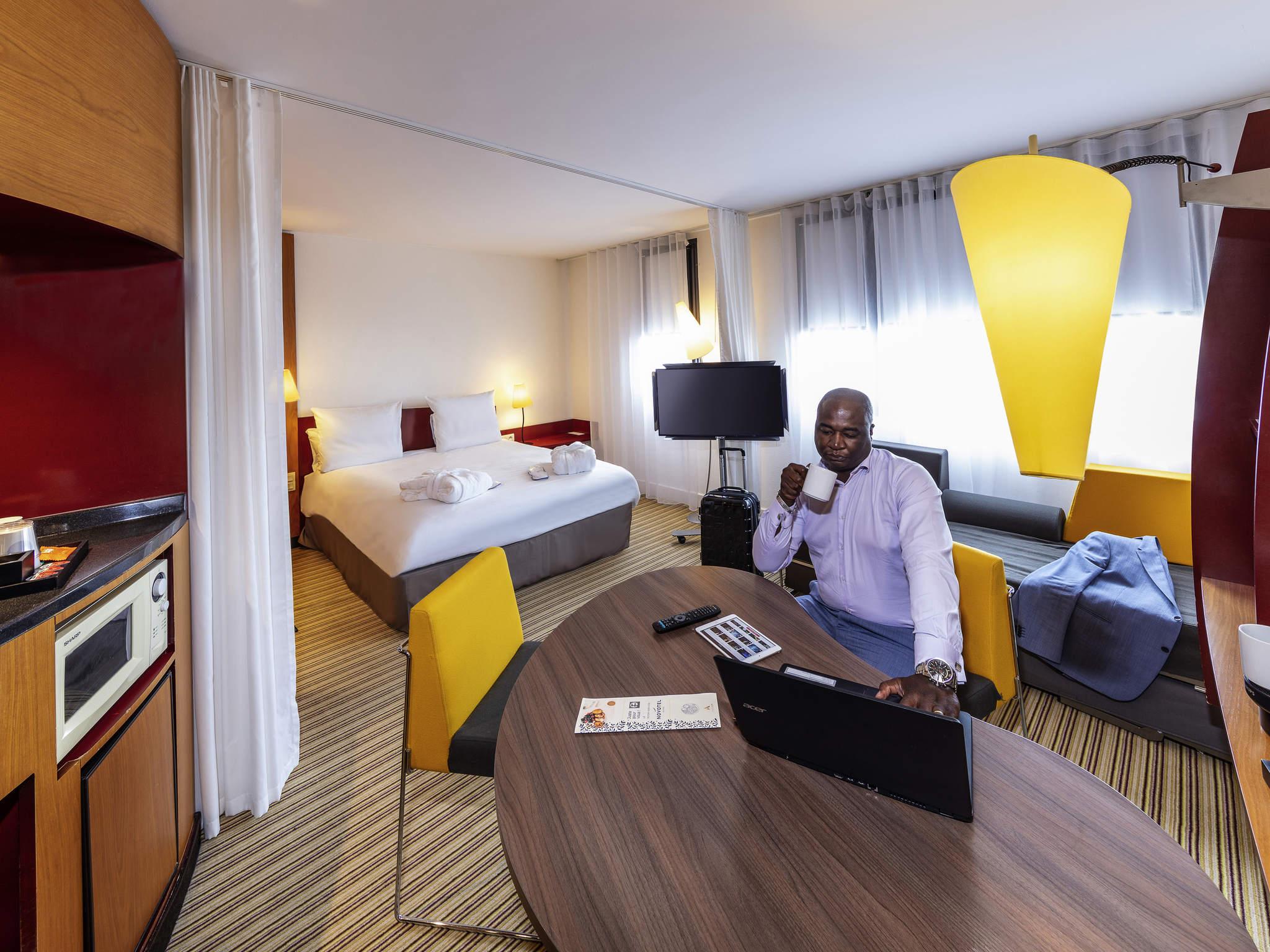 酒店 – Novotel Suites Calais Coquelles Tunnel sous la Manche