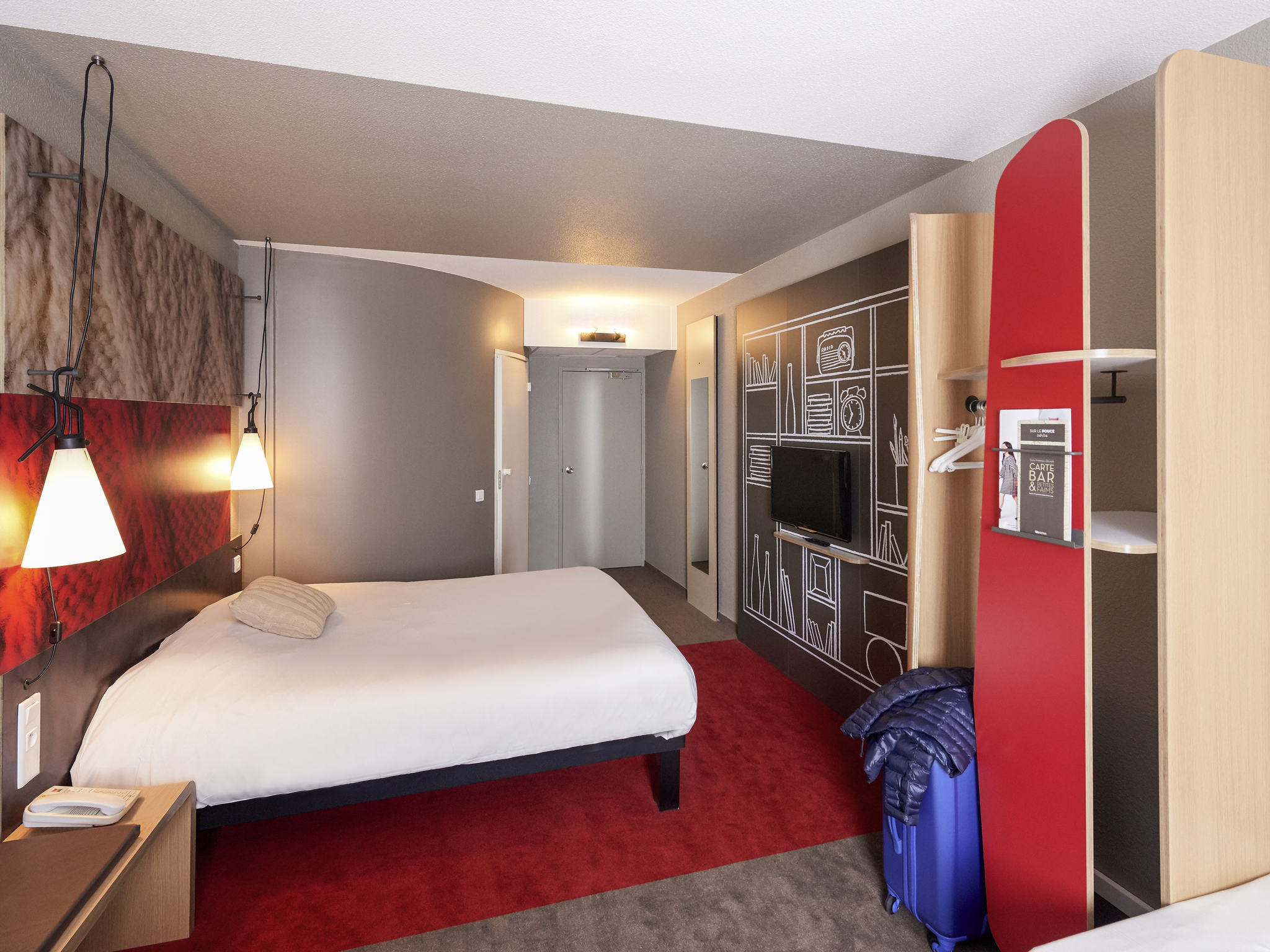 h tel cholet ibis cholet. Black Bedroom Furniture Sets. Home Design Ideas