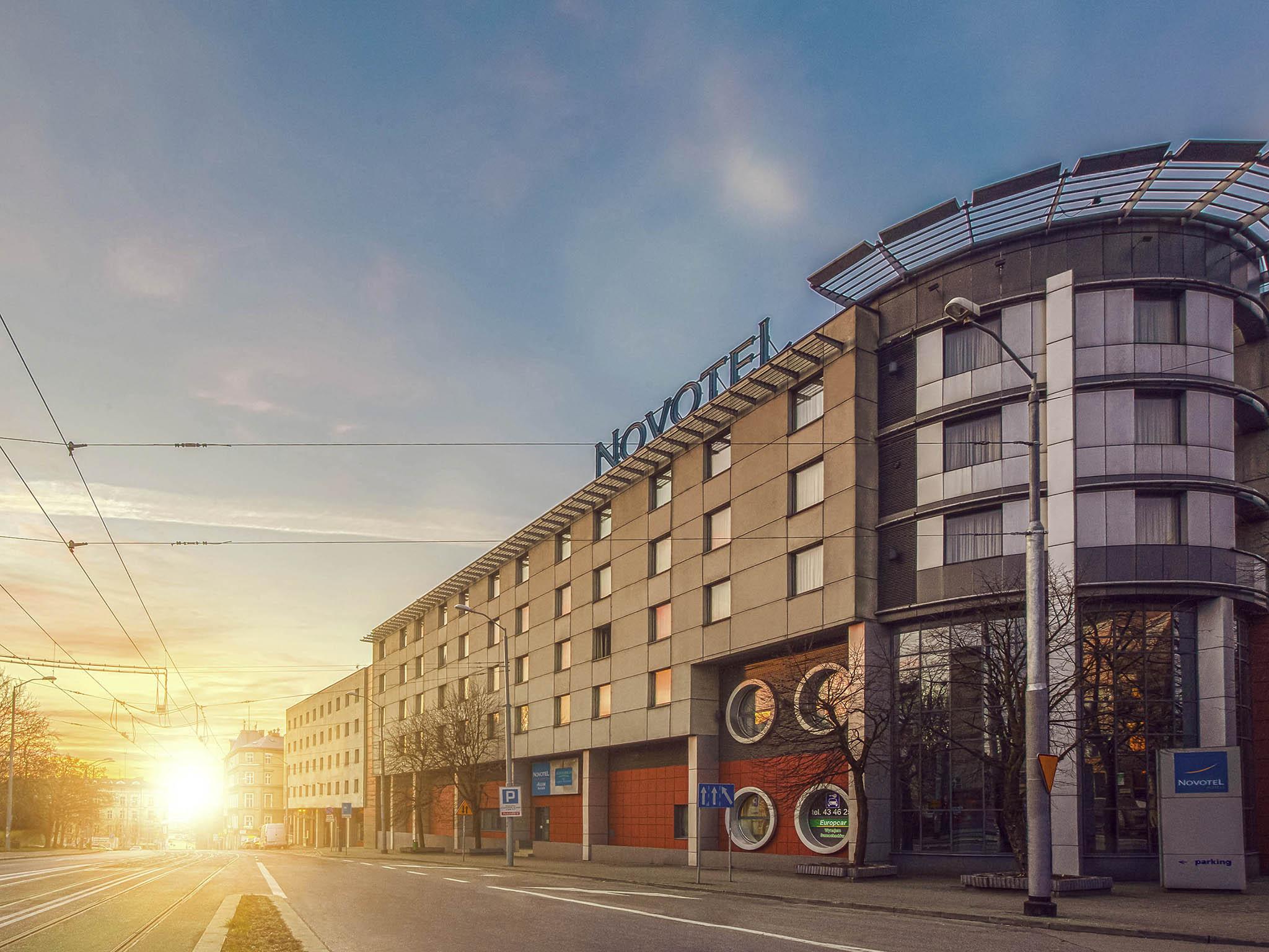 โรงแรม – Novotel Szczecin Centrum