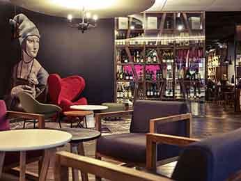 Fachada del Hotel Mercure Wroclaw Centrum