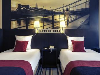 Habitación del Hotel Mercure Wroclaw Centrum