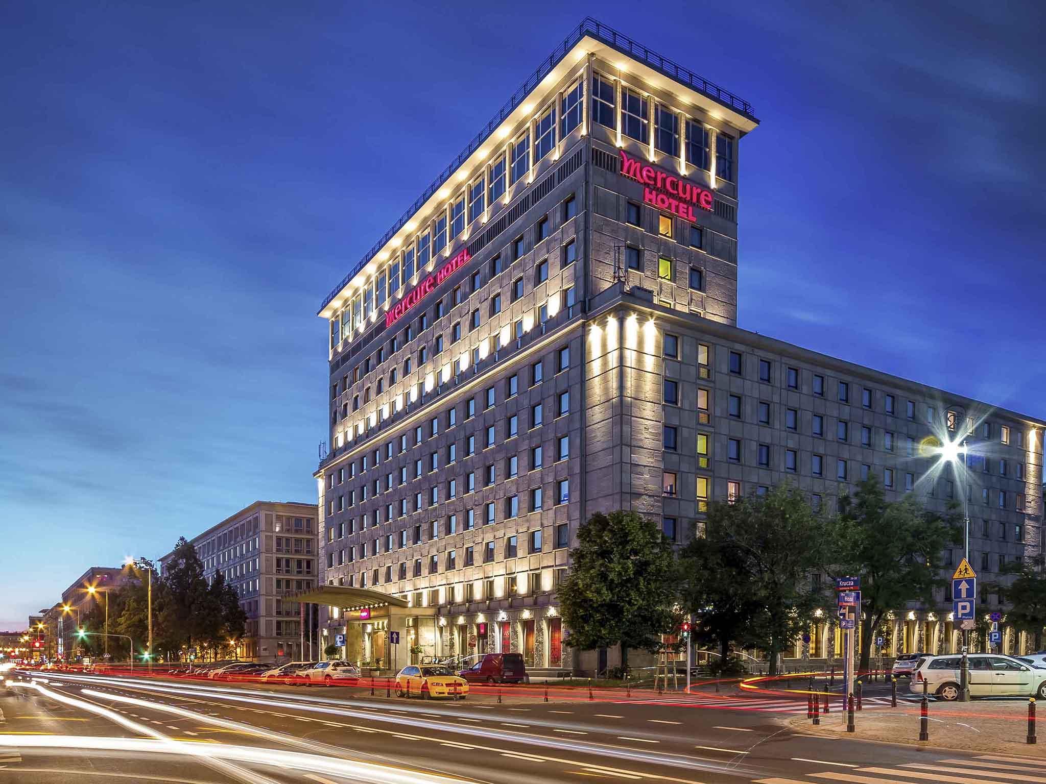 โรงแรม – Hotel Mercure Warszawa Grand