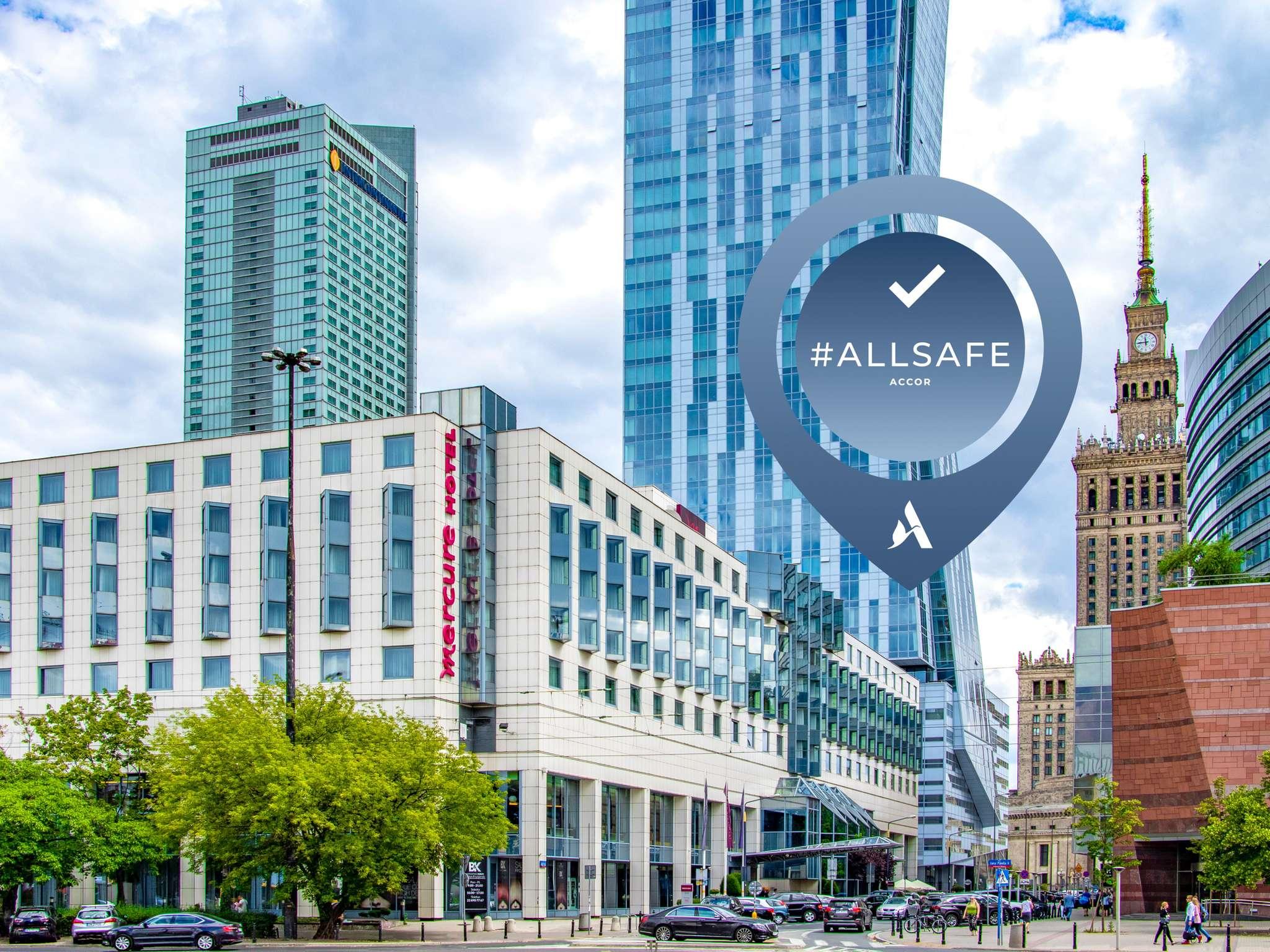 Hotell – Mercure Warszawa Centrum