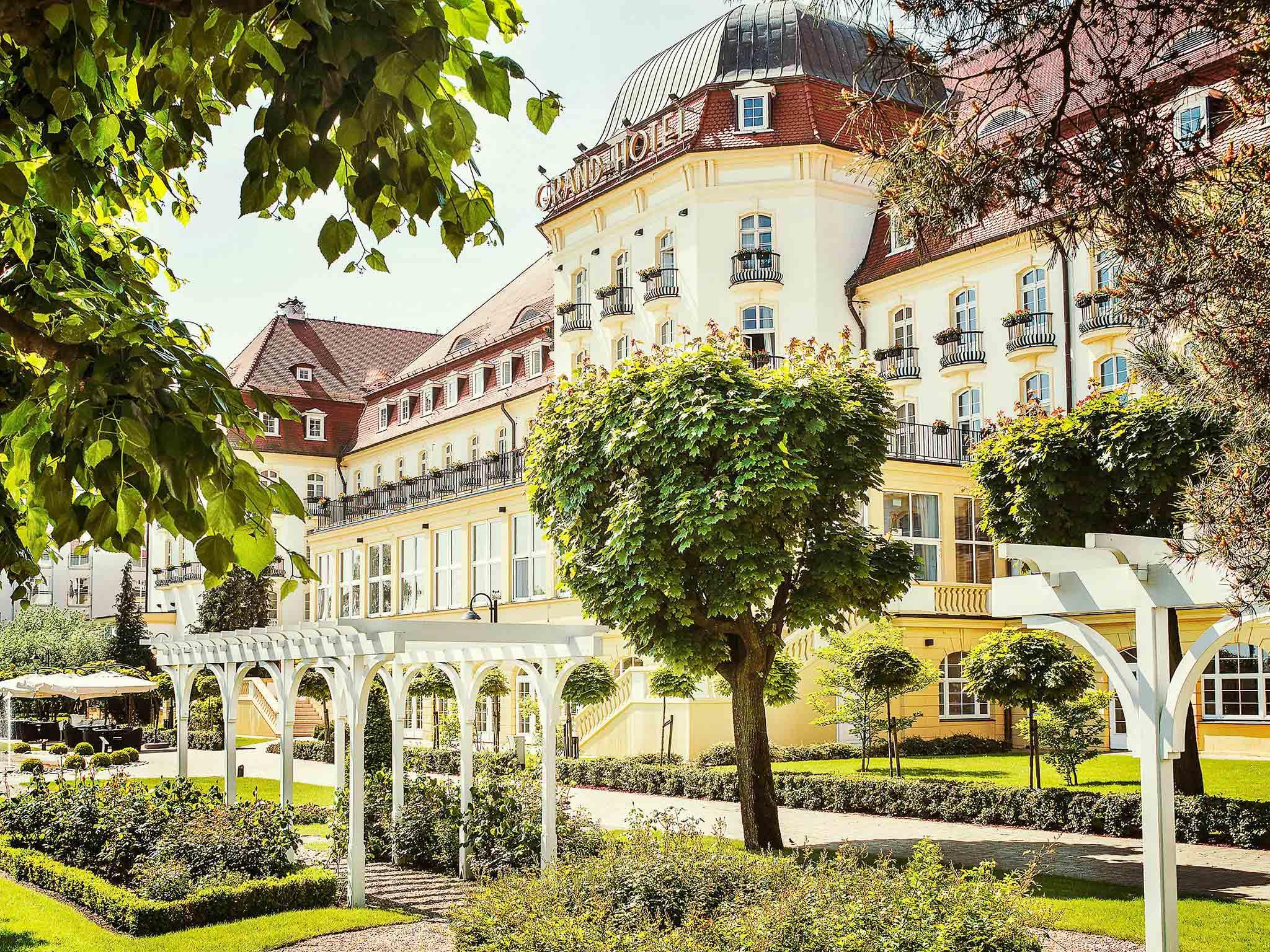 Hotel – Sofitel Grand Sopot
