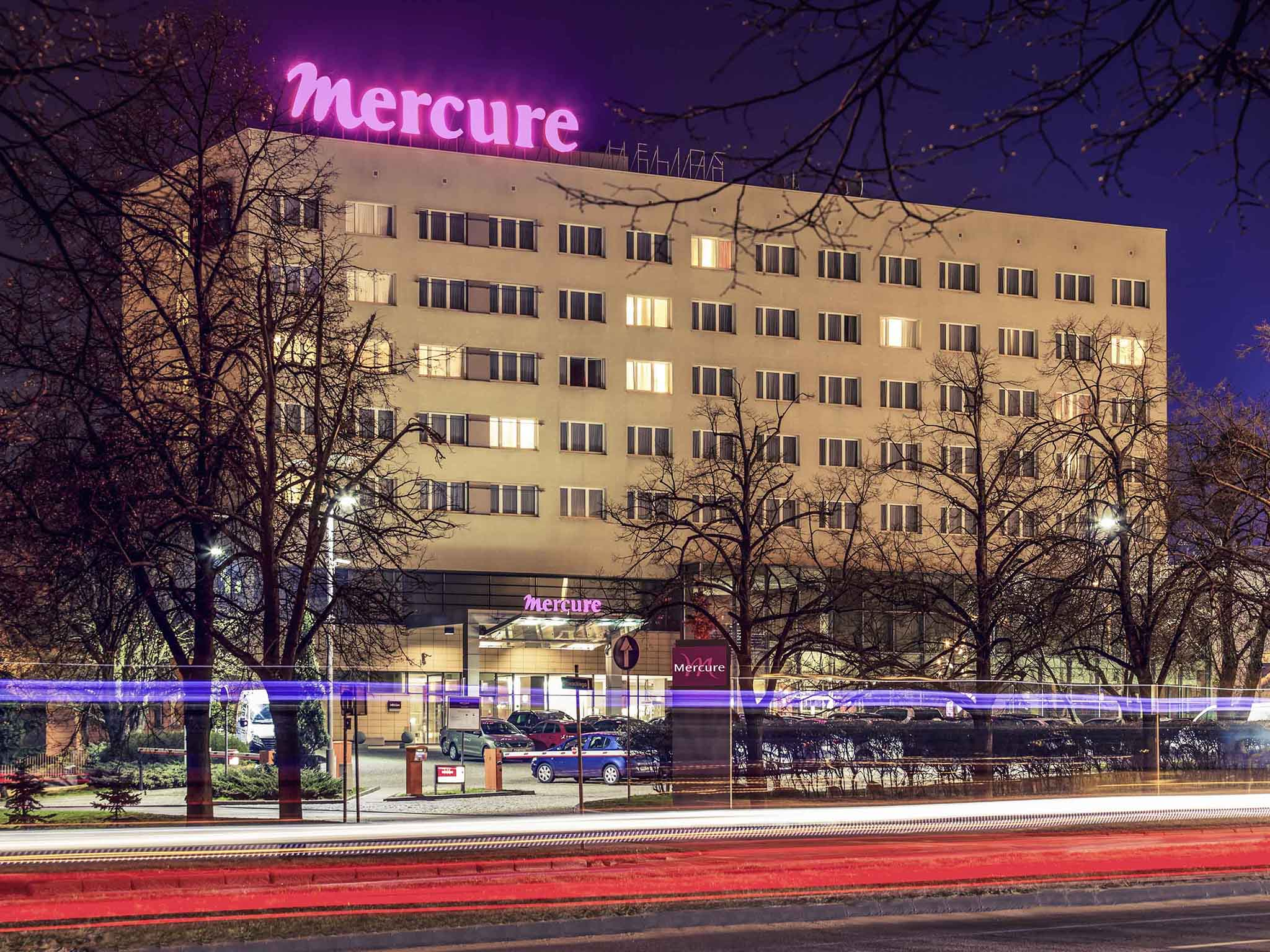 โรงแรม – Hotel Mercure Torun Centrum