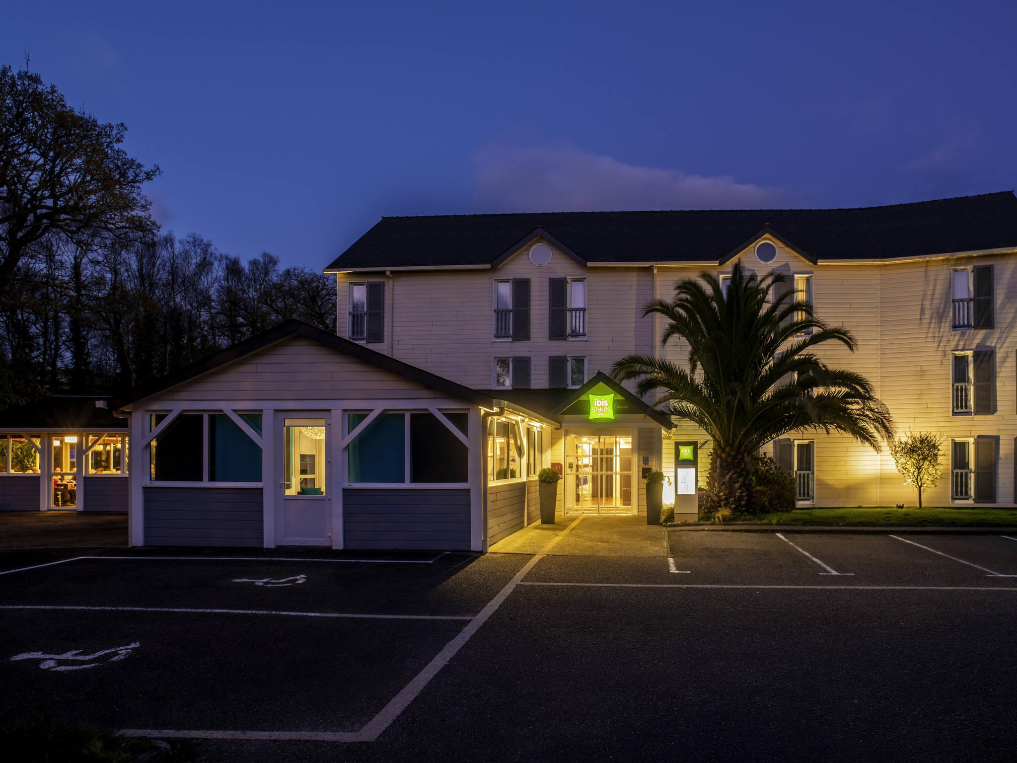 Hotel em quimper ibis styles quimper for Hotels quimper