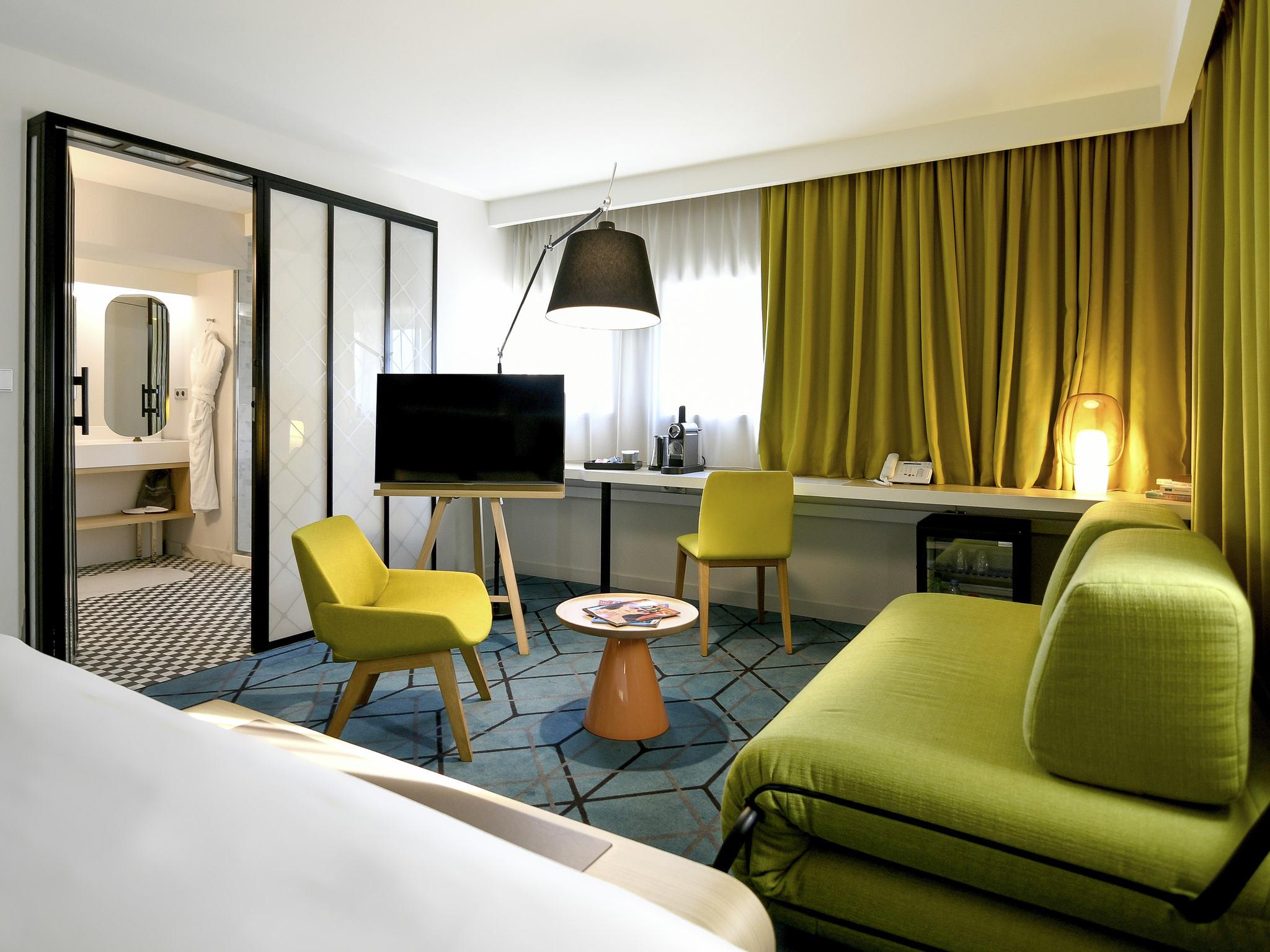 ホテル – メルキュールナントサントルガール