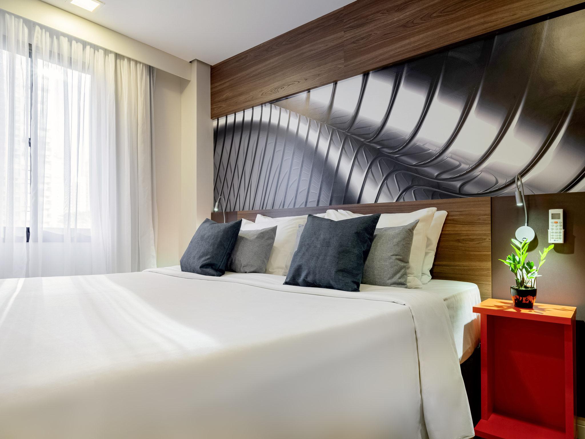 Hotell – Mercure São Paulo Moema Times Square