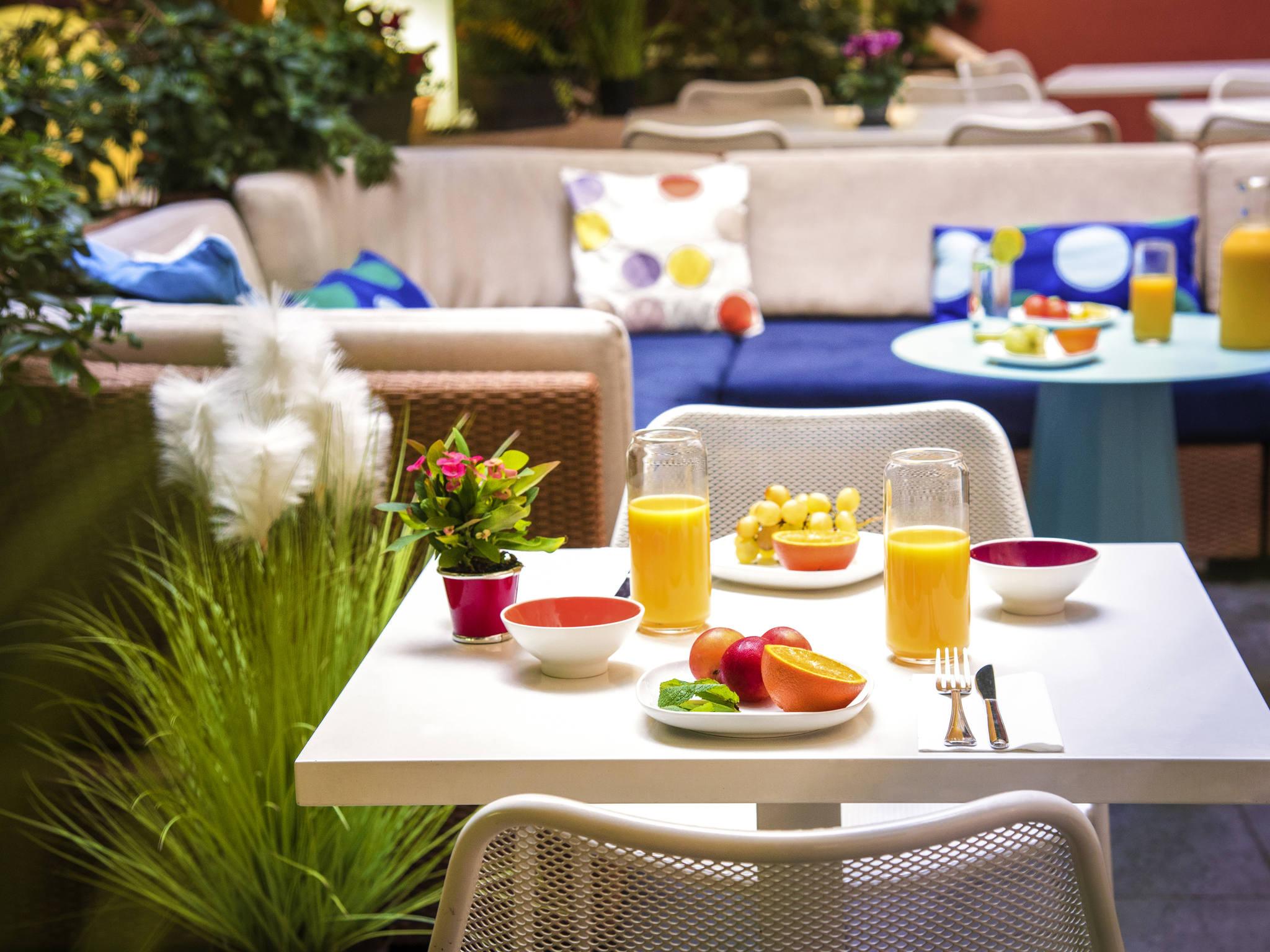 Отель — Novotel Suites Канны Центр