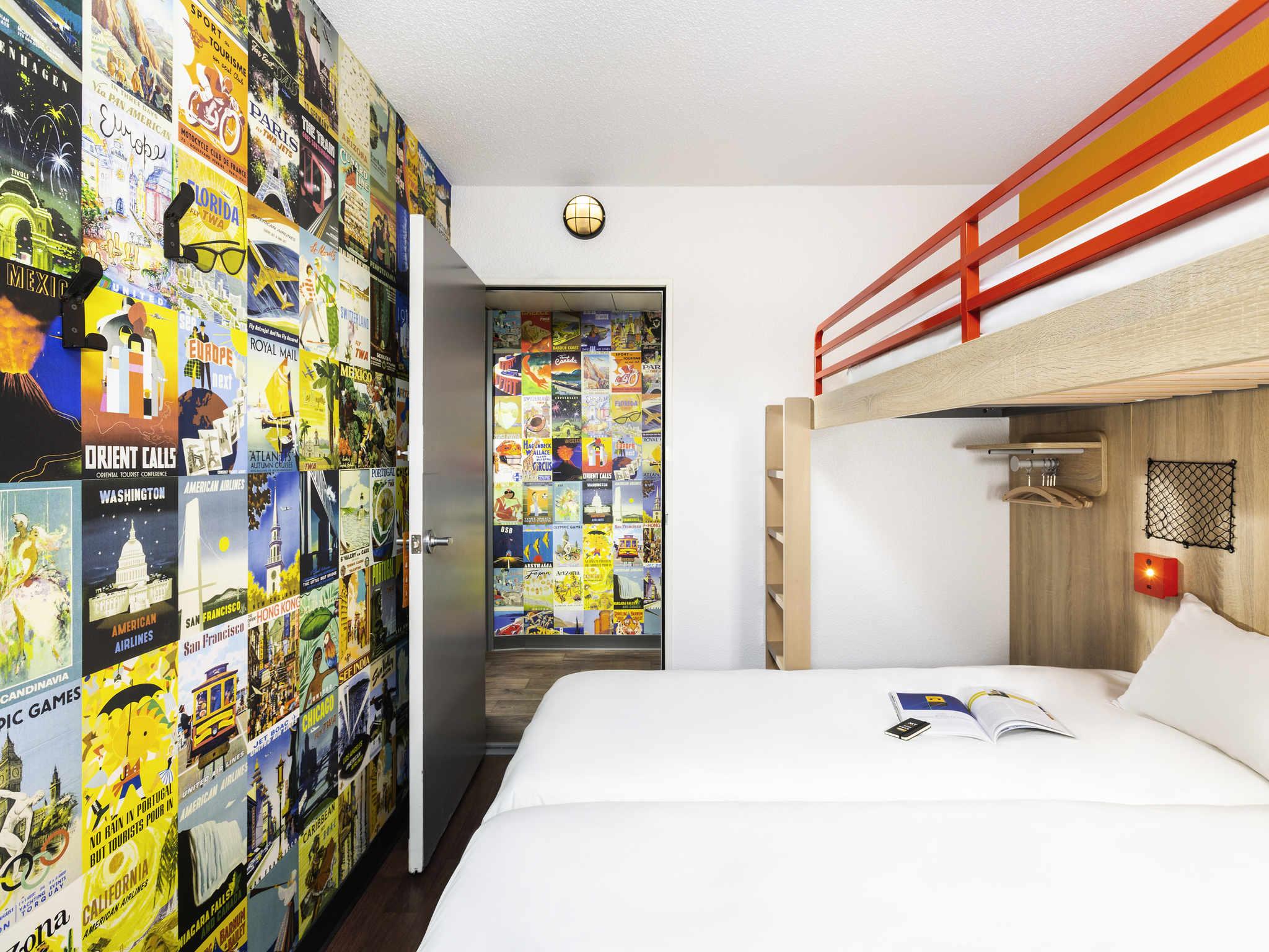 H tel bagnolet hotelf1 paris porte de montreuil for Hotel formule 1 porte montmartre