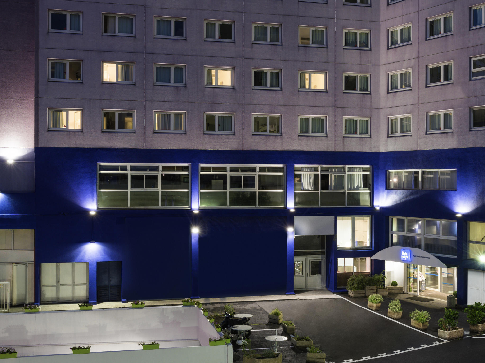 Отель — ibis budget Paris Aubervilliers