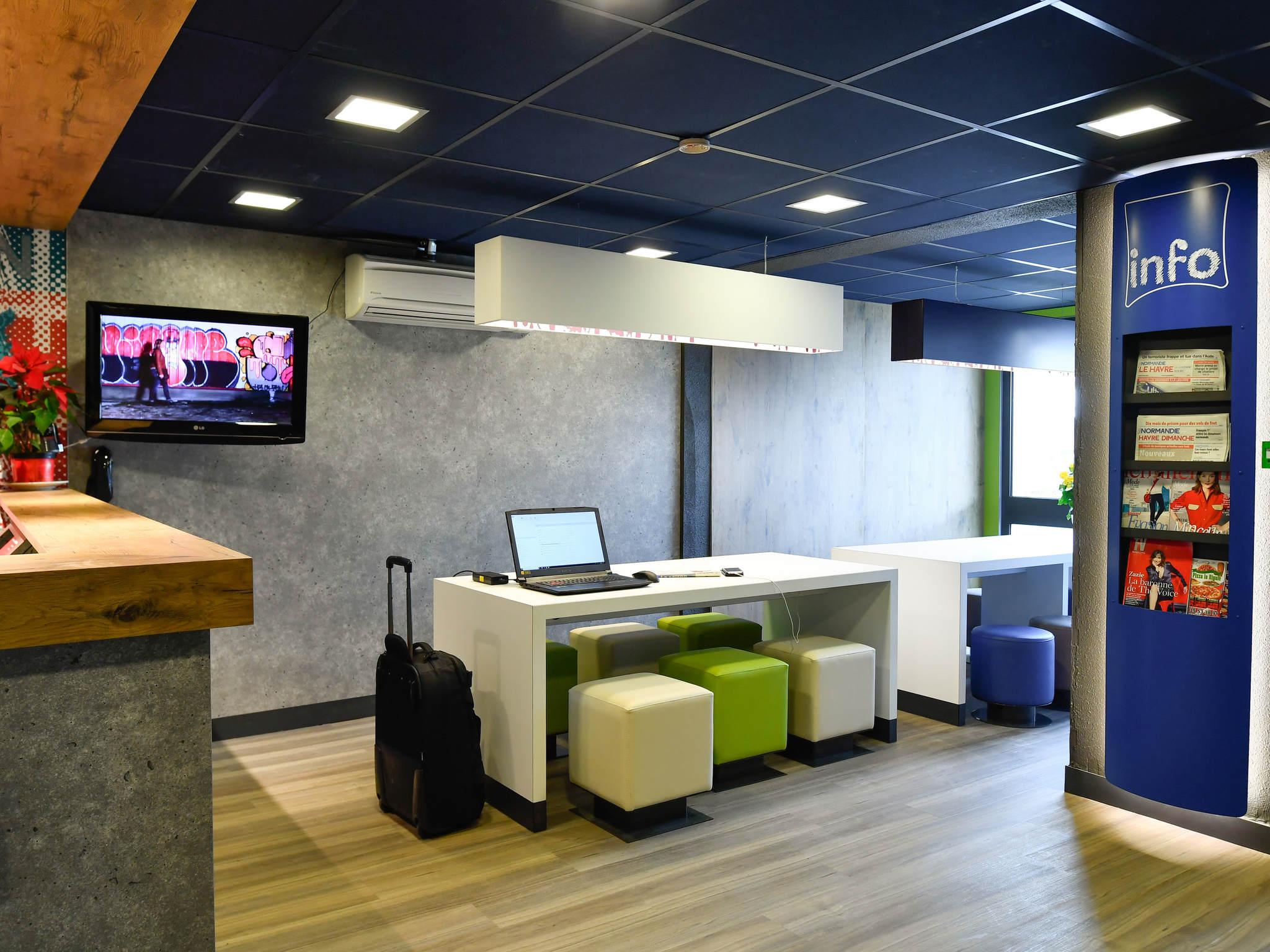 Hôtel - ibis budget Le Havre Centre