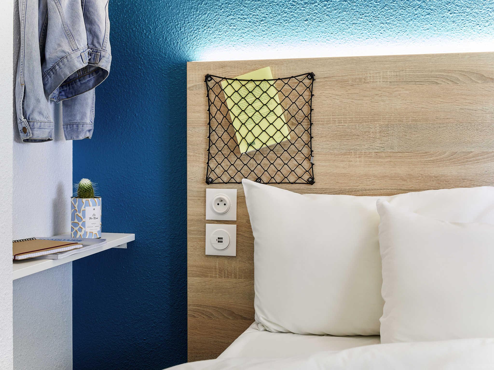 Отель — hotelF1 Roissy Aéroport CDG PN 2