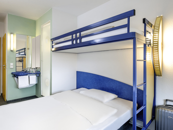 Chambres - ibis budget Hannover Hauptbahnhof