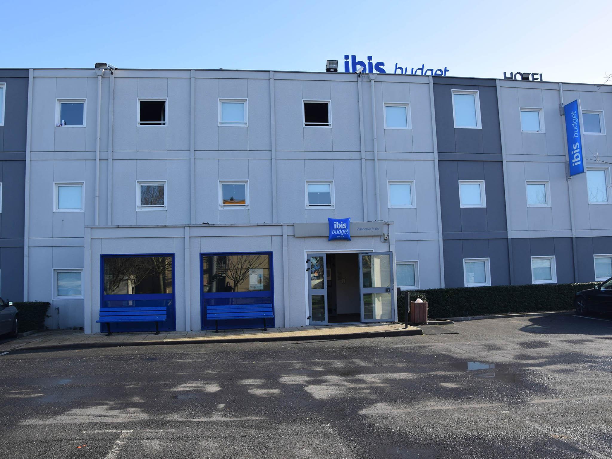 Отель — ibis budget Villeneuve-le-Roi
