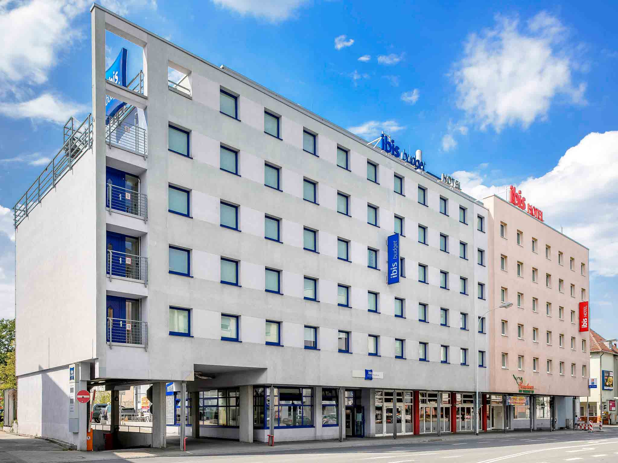 Отель — ibis budget Дармштадт Сити