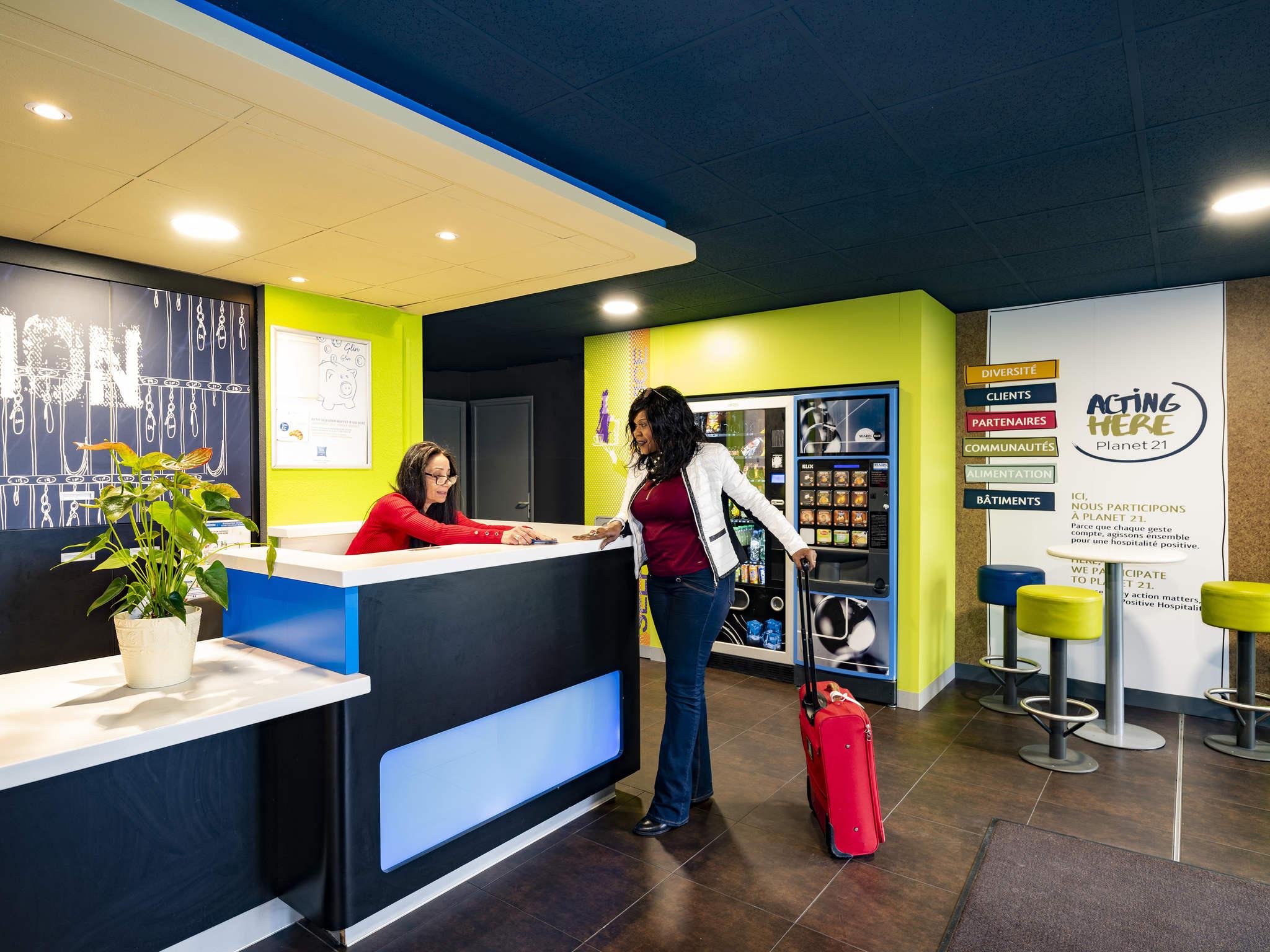 Hotell – ibis budget Vitry-sur-Seine A86 Bords de Seine
