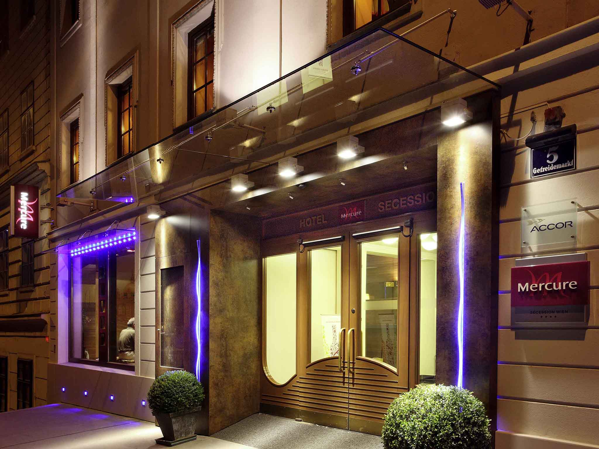 Отель — Mercure Сецессион Вена