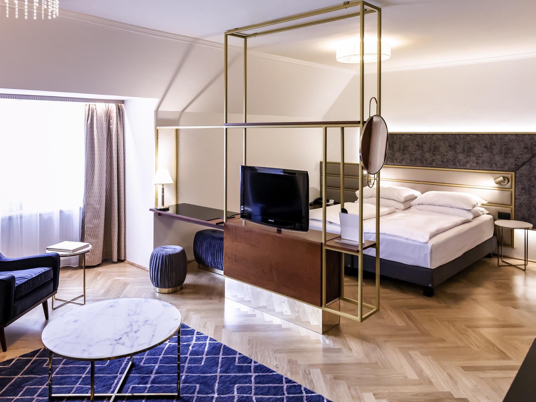 ... Zimmer   Hotel Mercure Secession Wien ...