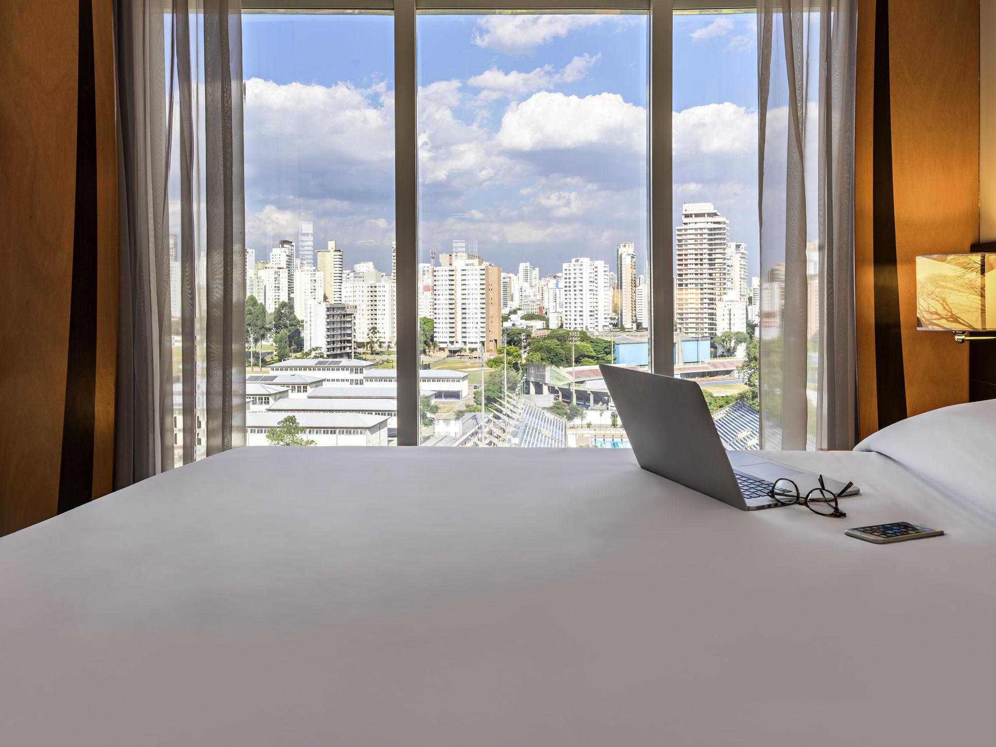 酒店 – 圣保罗伊比拉普埃拉体育馆美居酒店