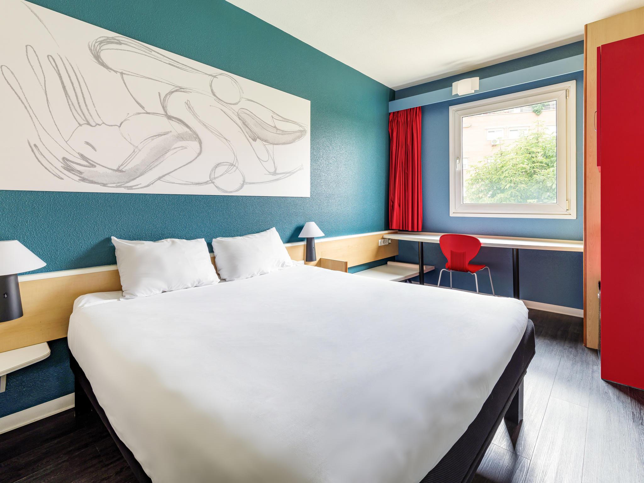 Hotell – ibis Madrid Getafe