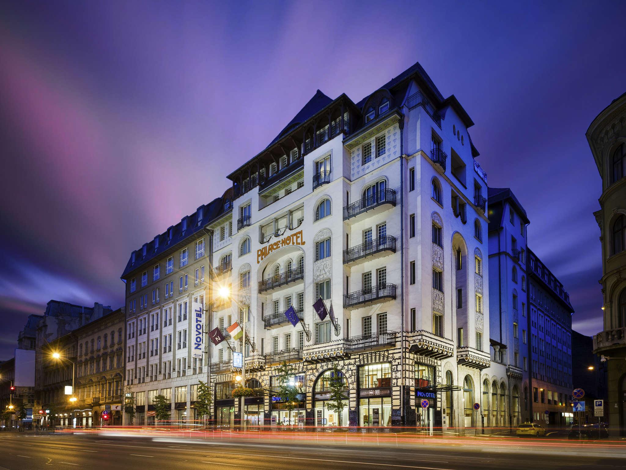Otel – Novotel Budapest Centrum