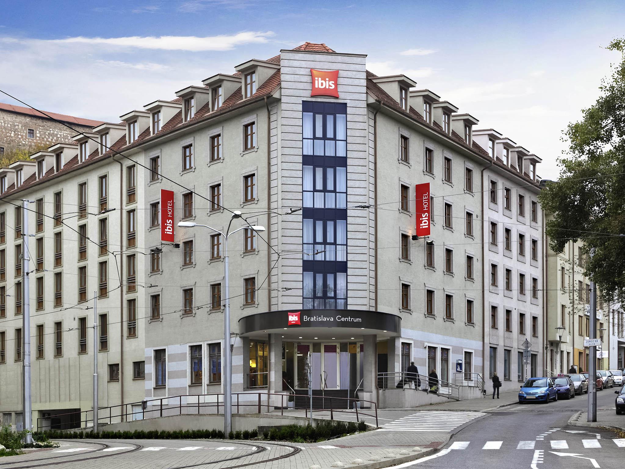 Hotell – ibis Bratislava Centrum