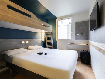 Rooms - ibis budget Reims Thillois
